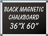 NEOPlex 36'' x 60'' Aluminum Framed Black MAGNETIC Chalkboard
