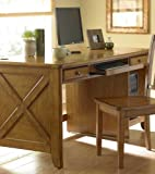 Home Office Writing Desk in Oak by Homelegance