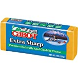Cabot Extra Sharp Cheddar Cheese Bar, Yellow