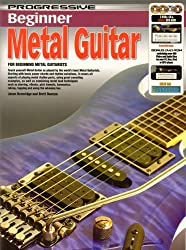 Progressive: Beginner Metal Guitar (Book/CD/2DVDs/DVD-ROM/Poster). Partitions, CD, 2 x DVD (Région 0), DVD-Rom, Posters pour Guitare