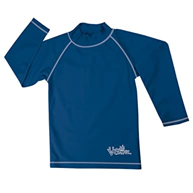 774030b5e Amazon.com: UV Skinz Boys' Long Sleeve Sun & Swim Shirt, UPF 50+ Sun  Protection - Fast Drying: Clothing