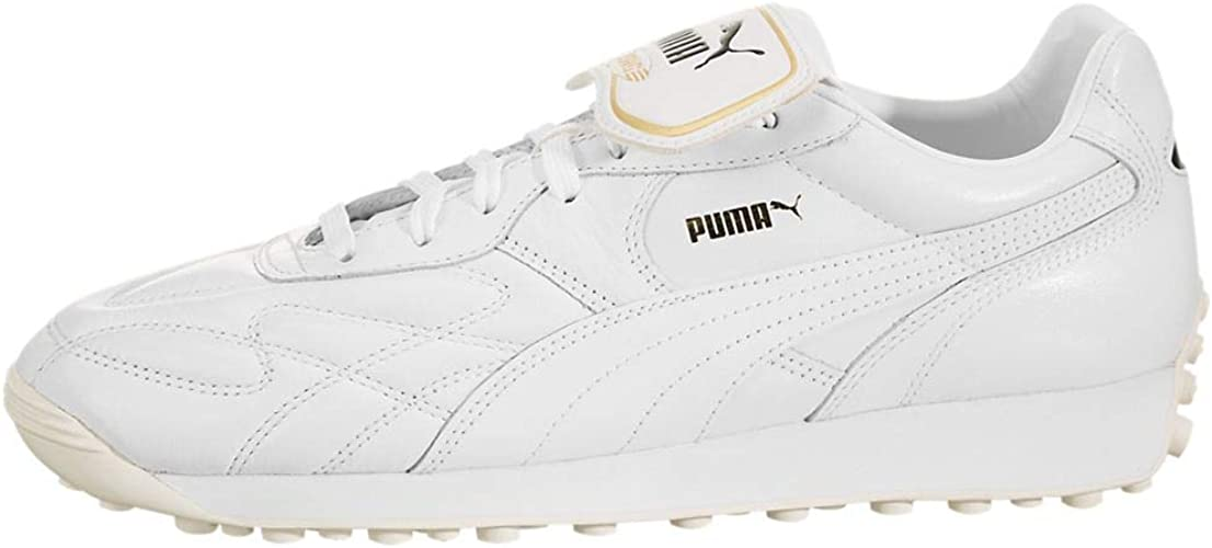 pasado Trampolín dentista  Amazon.com | PUMA Mens King Avanti Pemium Leather Fitness Sneakers | Shoes