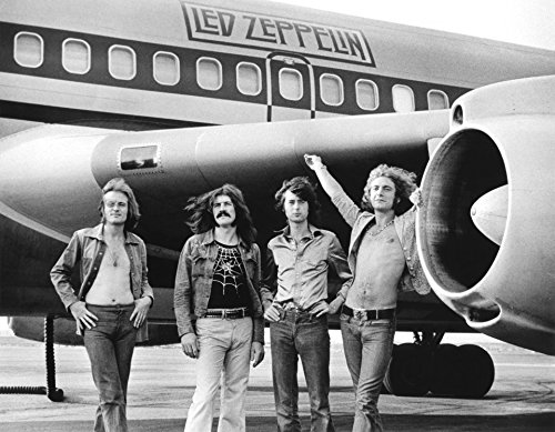 Led Zeppelin Band Bob Gruen Photo Art British Rock Roll Photos Artwork 8x10 (Artwork Rock And Roll)