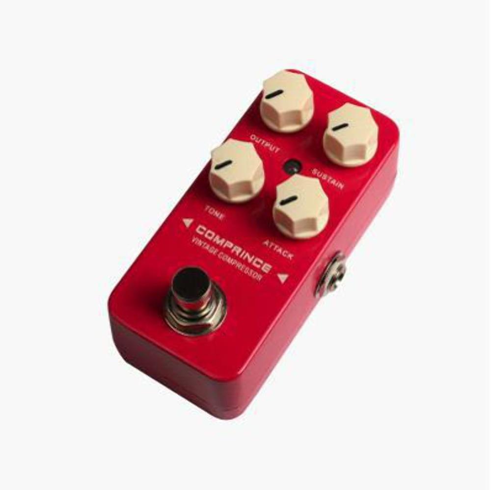 Pedal compresor para guitarra eléctrica y bajo: Amazon.es: Instrumentos musicales