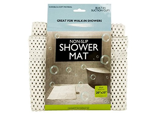 bulk buys OF440-24 Non-Slip Shower Mat with Suction Cups44; 24 Piece