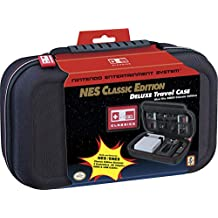 Deluxe Travel Case Black NES Classic