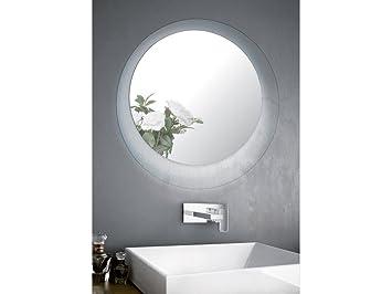 Infabbrica specchio bagno led tondo crystal dimensioni
