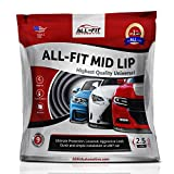 #2: All-Fit Automotive Universal Lip Kit Front Bumper Chin Spoiler 2.5 Inch Mid Lip, Black