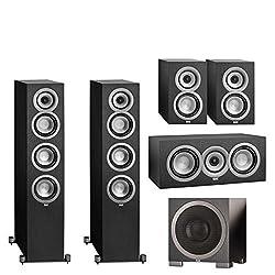 enclave cinehome. elac 5.1 speaker system enclave cinehome