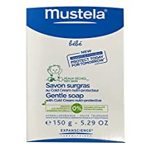 Mustela Gentle Soap with Cold Cream, 5.29 oz., K-BB-1056