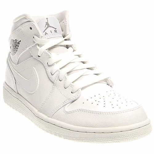 official photos a9e35 2c60e Jordan - Zapatillas de Material Sintético para Hombre Blanco Blanco, Color  Blanco, Talla 47  Amazon.es  Zapatos y complementos