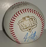 Jeremy Affeldt signed 2012 World Series Major League baseball *San Francisco Giants* Comes with a Certificate of Authenticity - Autographed Baseballs