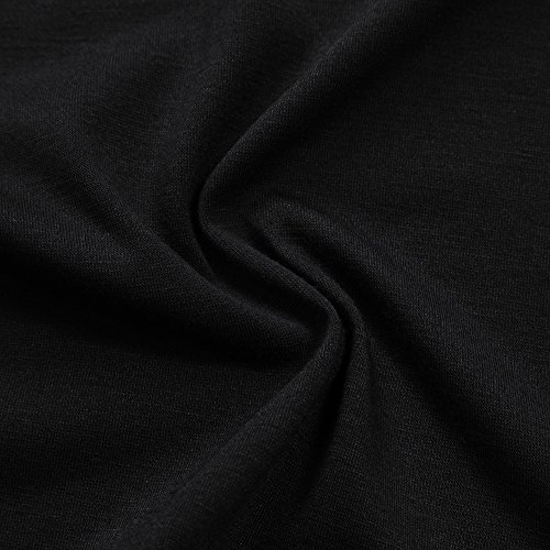 Primavera Davanti A Lungo Orlo Autunno Aperto E Irregolare Drappeggiato Cardigan Donna Tasche Top Lunghe estivo Yesfashion Con Giacca Nero Due Maniche Fqztp8w