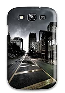 6449576K34956864 For Galaxy S3 Fashion Design City Case
