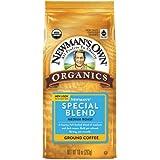Newman's Own Organics Newman's Special Blend Medium Roast Ground Coffee, 10 oz (Pack of 2)