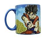 Dragon Ball Z Goku and Logo Molded Mug