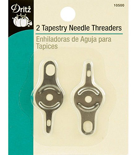 Dritz 10500 Tapestry Needle Threaders (2-Count)