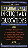 New International Dictionary of Quotations, 3rd Edition, , 0451199634