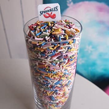 Natural Rainbow tuercas leche de soja Gluten OMG libre Shimmer – Sprinkles Bulk Pack