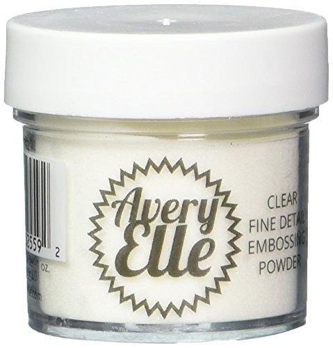 Avery Elle E1702 Fine Embossing Powder 1oz, Clear by Avery Elle