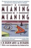 img - for Meaning Of Meaning book / textbook / text book