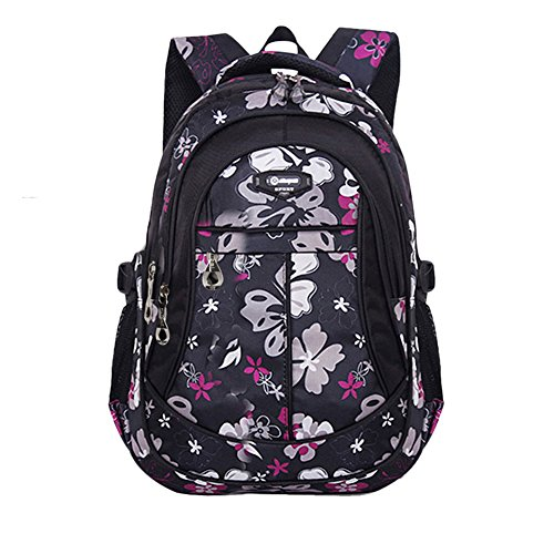 School Backpack Printed Primary Bookbag Junior High University School Bag Cute Outdoor Daypack for Girls Boys