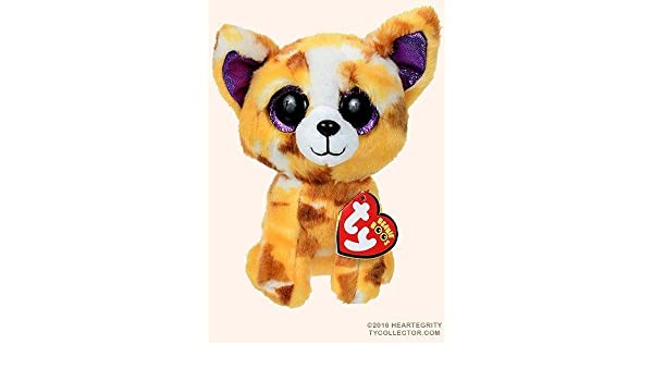 a423ee2c347 Amazon.com  New TY Beanie Boos Cute Pablo the Chihuahua Plush Toys 6   15cm  Ty Plush Animals Big Eyes Eyed Stuffed Animal Soft Toys for Kids Gifts by Ty  ...