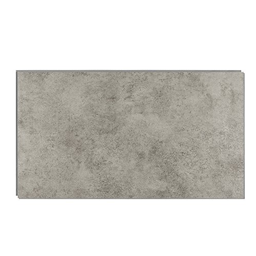Interlocking Vinyl Wall Tile by Dumawall - Waterproof, Durable 25.59 in. x 14.76 in. Wall/Backsplash Panels for Kitchen, Bathroom, or Shower (8 Panels) (Graphite Tempest)