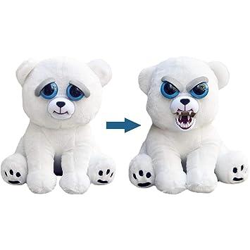 Feisty Pets Regalo de cumpleaños de Navidad para niños Muñeco de peluche Animal Cambio de cara ...