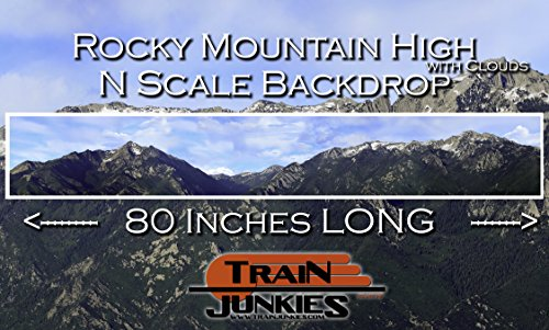 Train Junkies Rocky Mountain High with Clouds - Railroad for sale  Delivered anywhere in USA