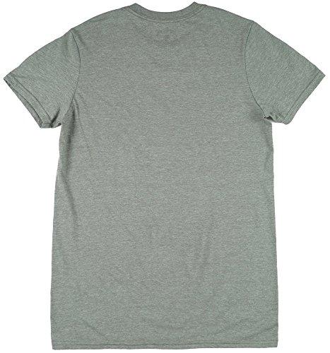 Jim-Beam-Bourbon-1975-Mens-T-Shirt-in-Heather-Green-S-2XL