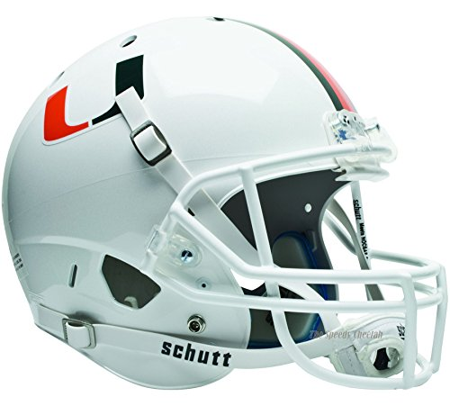 Miami Hurricanes Officially Licensed Full Size XP Replica Football Helmet
