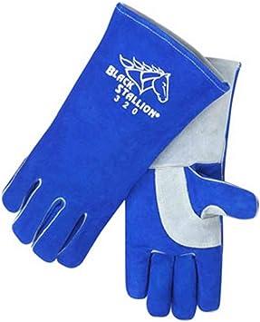 Black Stallion 320 CushionCore Split Cowhide Stick Welding Gloves 2X-Large