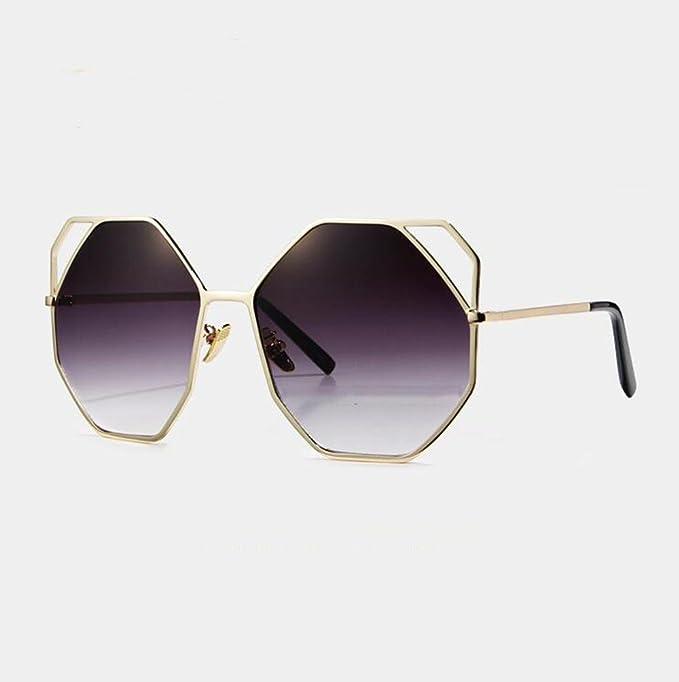 Z&YQ Lunettes de soleil eye eye eye glass oversize cut , a