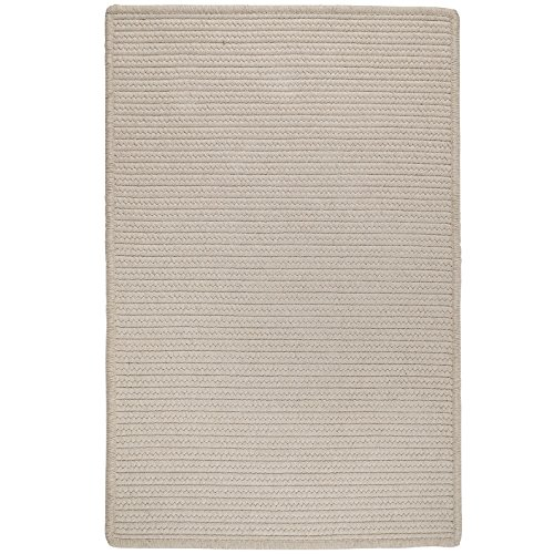 Sunbrella Solid LS10R072X108S Rugs, 6' x 9', Natural Papyrus