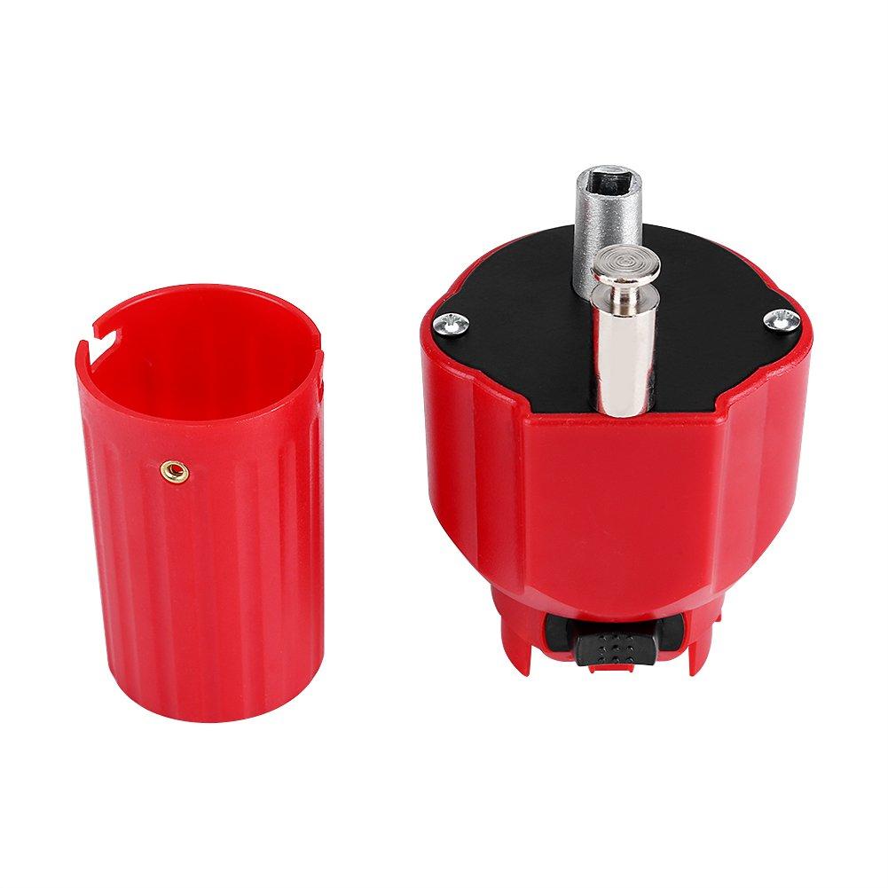 HEEPDD Grillmotor 5 V Rot Feste Konstruktion Grillgrill Rotator Grillhalter Bratenhalterungszubeh/ör Hervorragende Ladekapazit/ät mit Schaltknopf und USB-Kabel