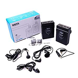 Boya Wireless Microphone for DSLRs and Camcorders [BY-WM5]