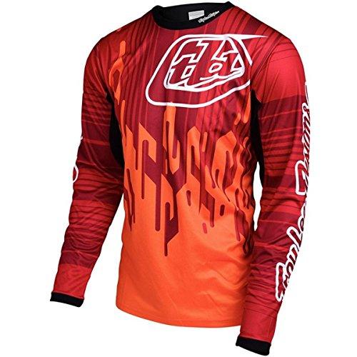 Chrome Mens Shirt (Troy Lee Designs Sprint Jersey - Long Sleeve - Men's Code Orange, XL)
