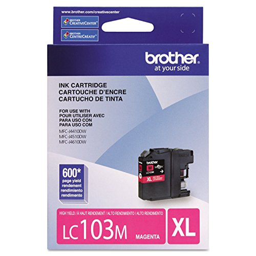 Genuine Brother LC103M Magenta Cartridge