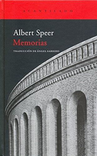 Alber Speer. Memorias
