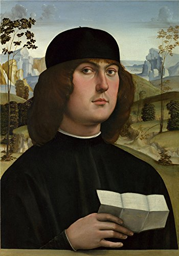 Oil Painting 'Bartolomeo Bianchini 1485-1500, Francesco Francia' 24 x 34 inch / 61 x 87 cm , on High Definition HD canvas prints is for Gifts And Basement, Home Office And Nursery Decoration