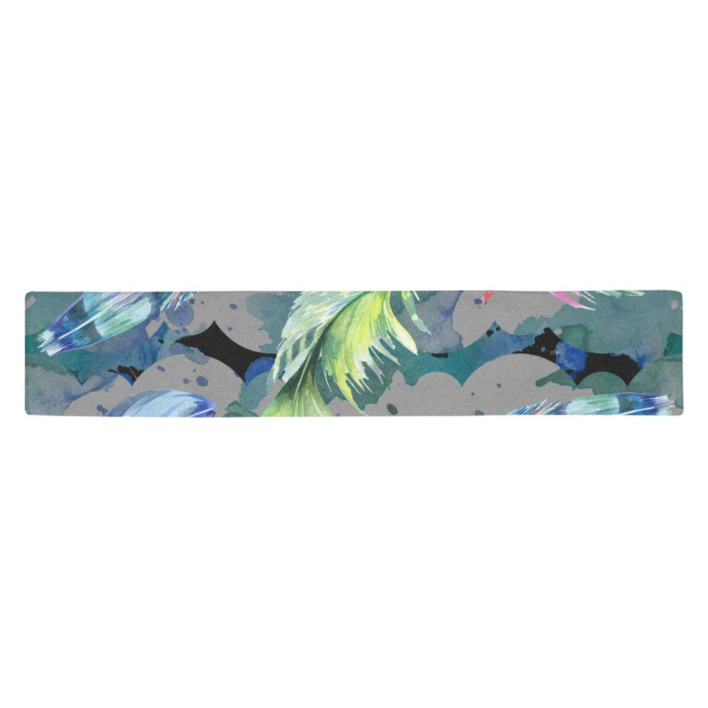 Multicolor KESS InHouse Suzanne CarterPoppy Blue Pink Coasters Set of 4 4 x 4