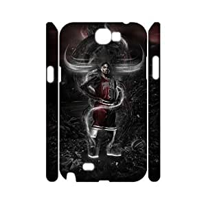 C-EUR Derrick Rose Customized Hard 3D Case For Samsung Galaxy Note 2 N7100