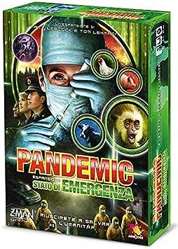 Asmodee Italia Pandemic Estado de Emergencia Juego de Mesa, Color ...