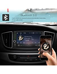 Amaseaudio Android 8.0 Actualización Octa Core 4GB RAM 32GB ROM Double 2 Din in Dash Car Radio estéreo Multimedia Navegación multimedia Receptor Cabezas sin DVD CD