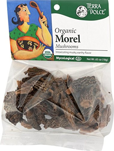 Terra Dolce Organic Morel Mushrooms, 0.65 Ounce