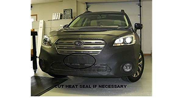 LeBra Front End Cover Subaru Outback Vinyl Black,55897-01