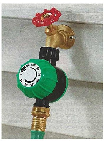 Trenton Gifts Mechanical Timer for Hose Sprinkler | 4 1/2 W X 3 1/4 H X 2″ D