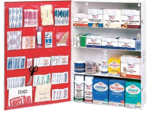 Empty First Aid Cabinet, Metal, (Empty First Aid Cabinets)