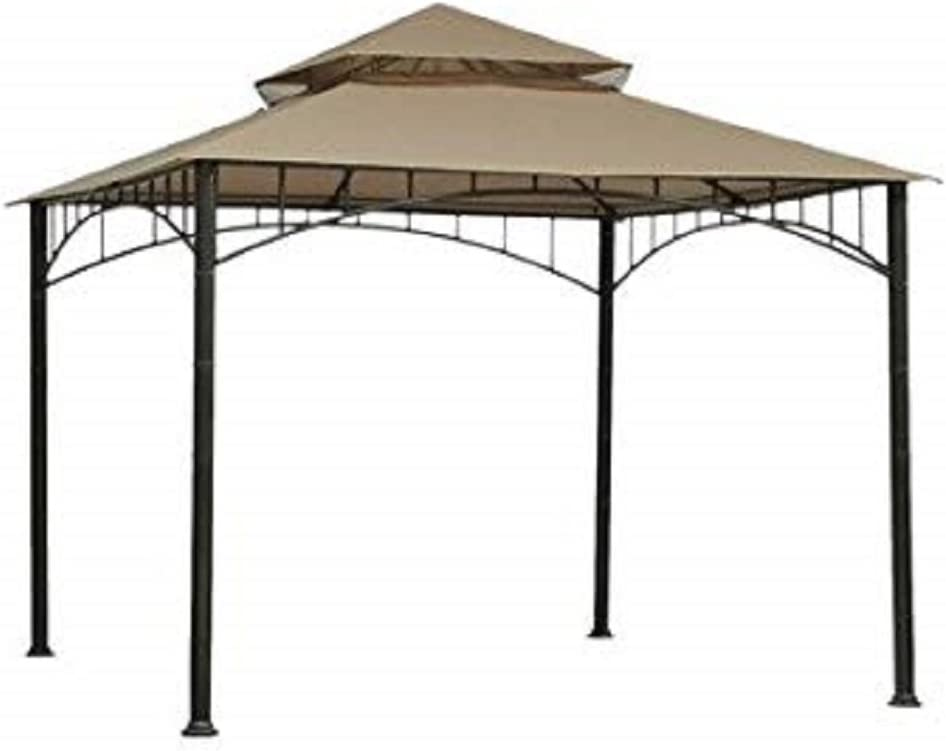 Threshold Gazebo Replacement Canopy 10' Square - Brown Linen